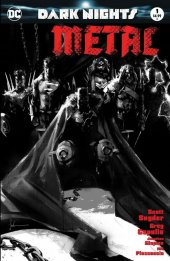 Dark Nights: Metal #1 Jock Variant B