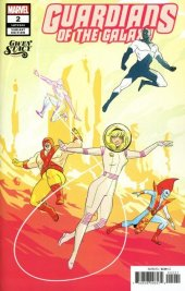 Guardians Of The Galaxy #2 Wu Gwen Stacy Variant