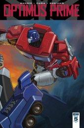 Optimus Prime #5 RI Cover