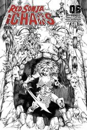 Red Sonja: Age of Chaos #6 1:35 Incentive