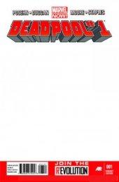 Deadpool #1 Blank Variant