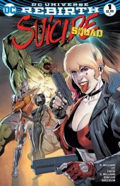 Suicide Squad #1 Neil Edwards Rhyl Comics & Disc Co. Variant