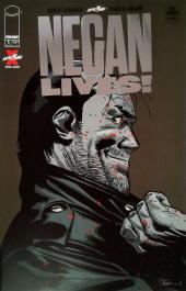 Negan Lives #1 Silver Foil Variant