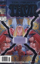 The Mighty Thor #475 Newsstand Edition