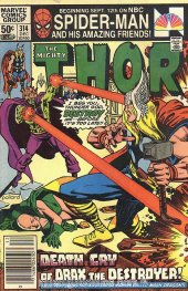 The Mighty Thor #314 Newsstand Edition