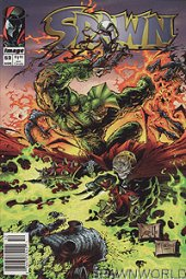 Spawn #52 Newsstand Edition