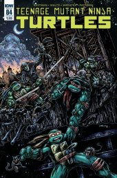 Teenage Mutant Ninja Turtles #84 Cover B Eastman