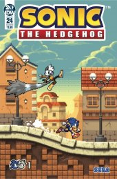 Sonic the Hedgehog #24 Cover B Hammerstrom
