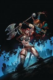Killing Red Sonja #1 Gideon Ltd Virgin Gedeon Zombie