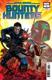 Star Wars: Bounty Hunters #1 1:25 Golden Variant