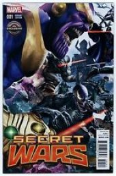 Secret Wars #1 Greg Horn Game Stop Variant