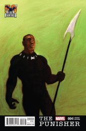 The Punisher #4 Zdarsky Black Panther Variant