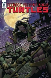 Teenage Mutant Ninja Turtles #91 1:10 Incentive Variant