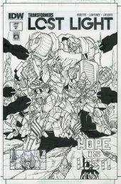 Transformers: Lost Light #2 SUB-A Cover (Artist Edition - Alex Milne)