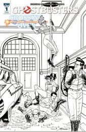 Ghostbusters: Crossing Over #1 1:10 Incentive Variant