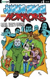 Junior High Horrors: April Fools Special #1 Original Cover