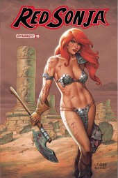 Red Sonja #19 Cover B  Linsner