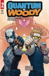Quantum & Woody #2 Cover C Reilly Brown