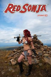 Red Sonja #16 Cover E Decobray Cosplay