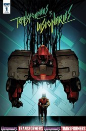 Transformers Vs. The Visionaries #1 1:10 Incentive Cover