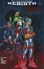Suicide Squad #1 Silver Convention Exclusive