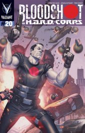 Bloodshot and H.A.R.D. Corps #20 Pullbox Molina Variant