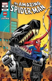 The Amazing Spider-Man #55 Ron Lim Lego Variant