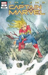 Captain Marvel: The End #1 Variant Cover