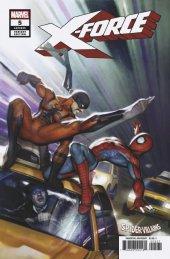X-Force #5 Brown Spider-Man Villains Variant