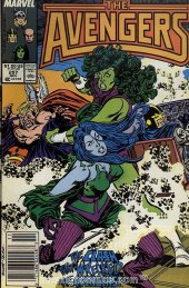 The Avengers #297 Newsstand Edition