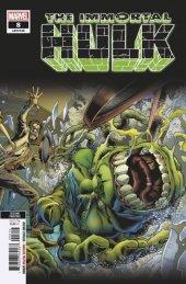 The Immortal Hulk #8 2nd Printing Bennett Variant