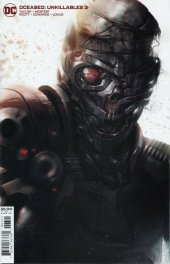 DCeased: Unkillables #3 Card Stock Variant Edition