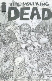The Walking Dead #1 The Walking Dead Escape 2014 Sketch Variant