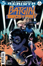 Batgirl and the Birds of Prey #7 Variant Edition