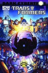 The Transformers: Dark Cybertron #1 Subscription Variant