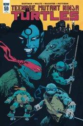 Teenage Mutant Ninja Turtles #59 Retailer Incentive Variant