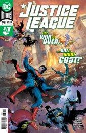 Justice League #39 Original Cover