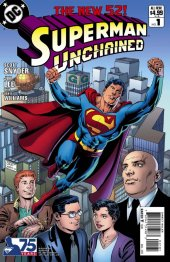 Superman Unchained #1 Ordway Cover