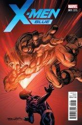 X-Men: Blue #1 Neal Adams Variant