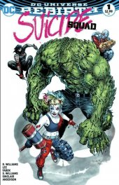 Suicide Squad #1 Liam Sharp Mega Comics and Gaming Color Variant