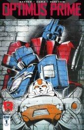 Optimus Prime #1 RI-A Cover