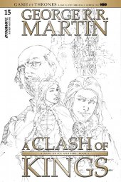 A Game of Thrones: Clash of Kings #15 1:15 Rubi B&w Cover