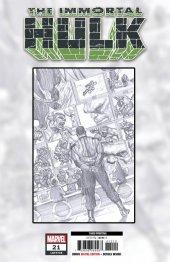 The Immortal Hulk #21 3rd Printing