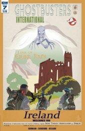 Ghostbusters International #7 Original Cover