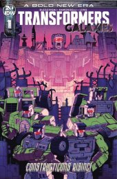 Transformers: Galaxies #1 1:25 Incentive Variant