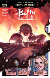 Buffy the Vampire Slayer #14 Original Cover