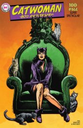 Catwoman 80th Anniversary 100-Page Super Spectacular #1 1950s Variant Cover by Travis Charest