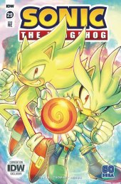 Sonic the Hedgehog #29 Convention Cover