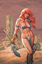 Red Sonja #19 Linsner Ltd Virgin Cover