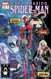 The Amazing Spider-Man #1 Jamal Campbell Stadium 1000 Print Variant